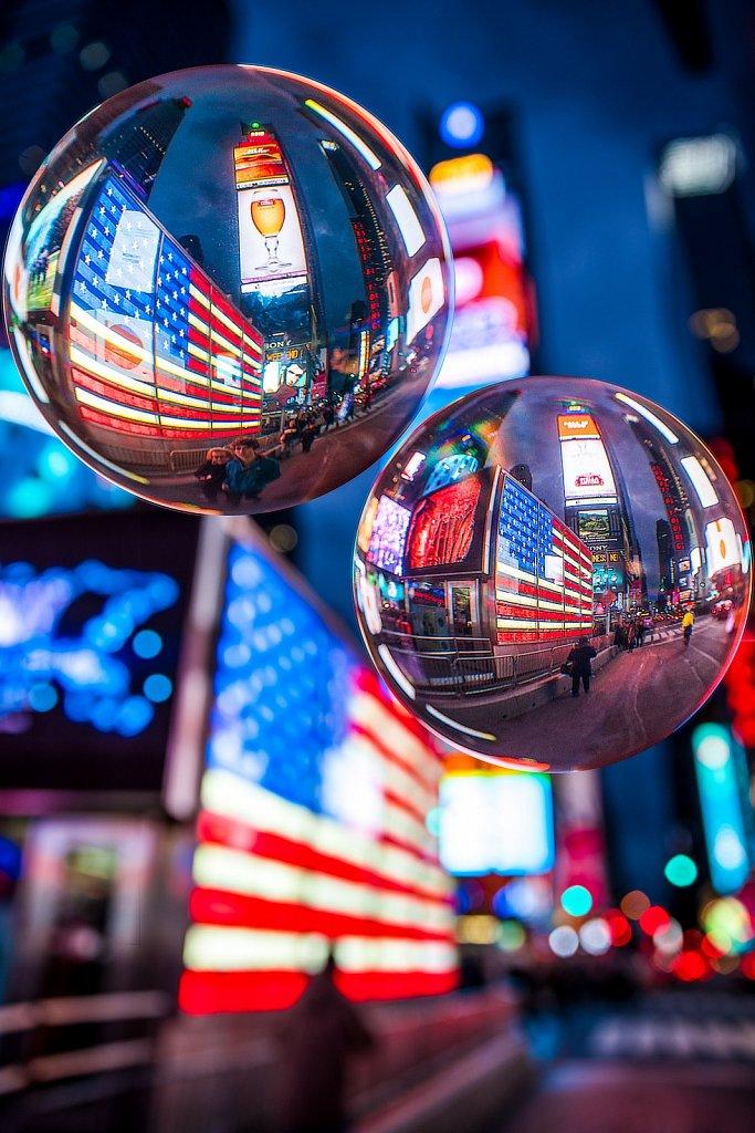 Times Square times three